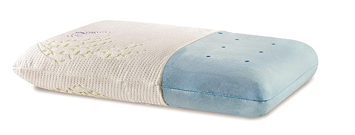 The White Willow Orthopedic Bed Pillow