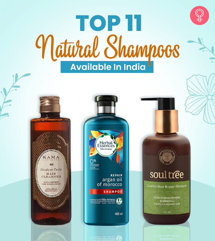 Top 11 Natural Shampoos Available In India – Reviews And Guide