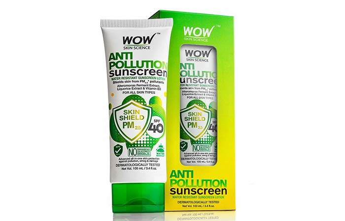 WowSkin Science Anti Pollution Sunscreen Lotion