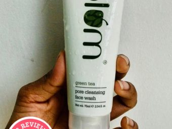 Plum Green Tea Pore Cleansing Face Wash -Best face wash for instant clear skin-By jenny_angelina_