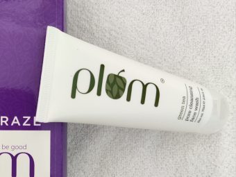 Plum Green Tea Pore Cleansing Face Wash -Loved the fragrance-By shalakaempathy