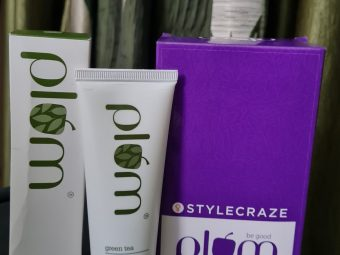 Plum Green Tea Pore Cleansing Face Wash -Bye Bye Pores-By shruti_sharma_2