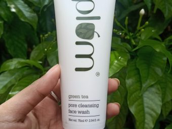 Plum Green Tea Pore Cleansing Face Wash -Amazing face wash-By dristi_chakraborty