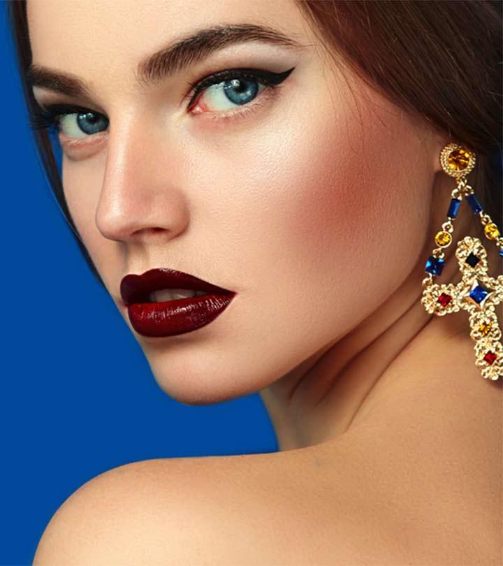 Make A Statement With These 10 Best Drugstore Burgundy Lipsticks Of 2021