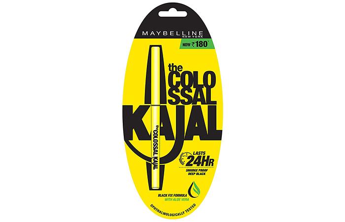 Maybelline New York The Colossal Kajal - Deep Black