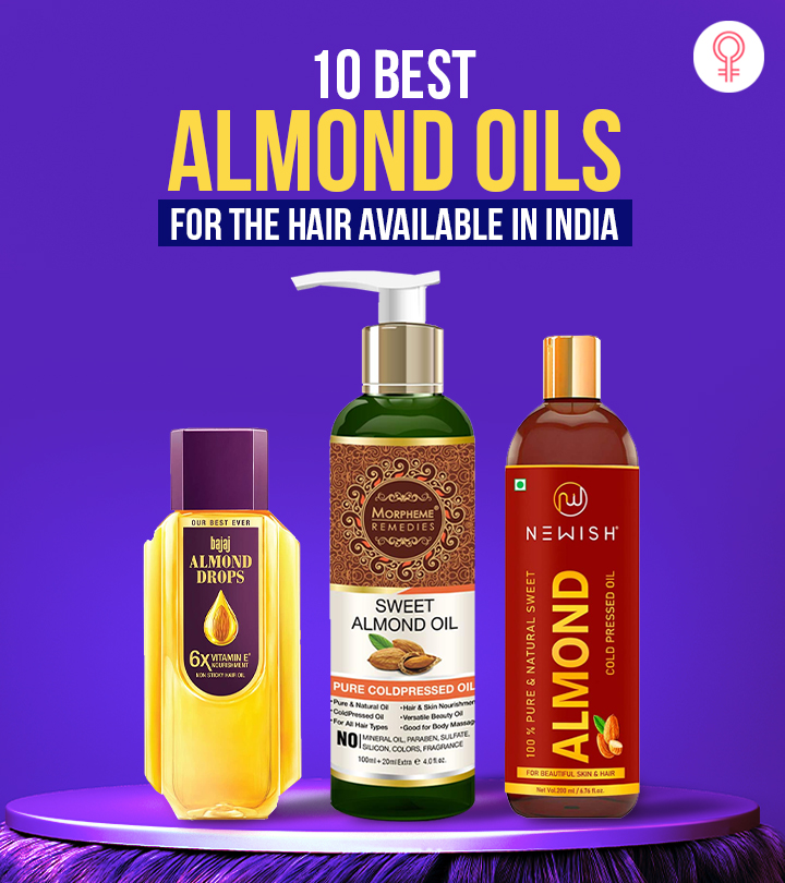 10 Best Almond Oils For The Hair Available In India