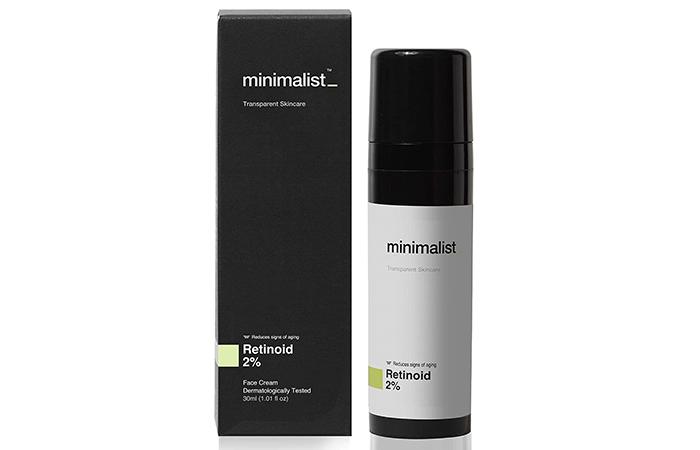 Minimalist Transparent Skincare Retinoid 2% Face Cream