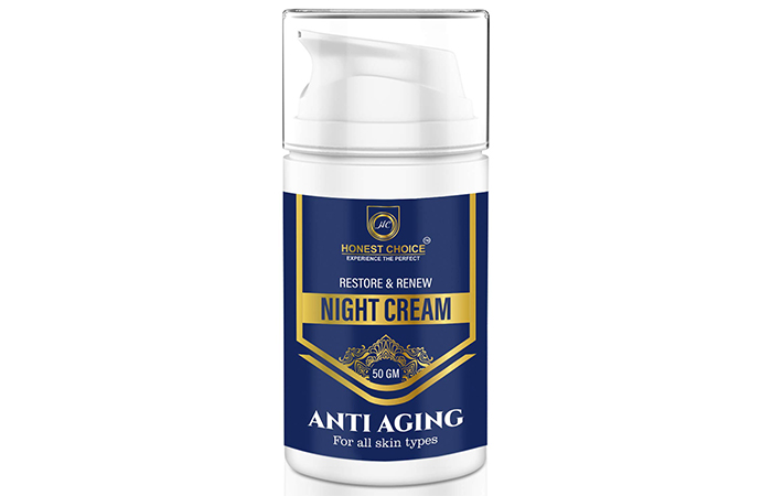 Honest Choice Restore & Renew Anti-Aging Night Cream