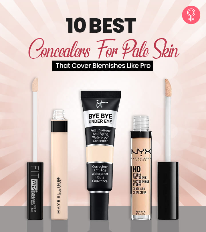 10 Best Concealers For Pale Skin That Cover Blemishes Like Pro