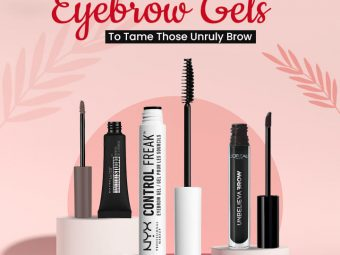 10 Best Drugstore Eyebrow Gels To Tame Those Unruly Brow