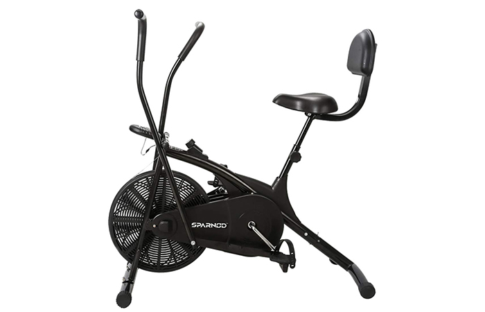 SPARNOD FITNESS SAB-05 Air Bike Exercise Cycle