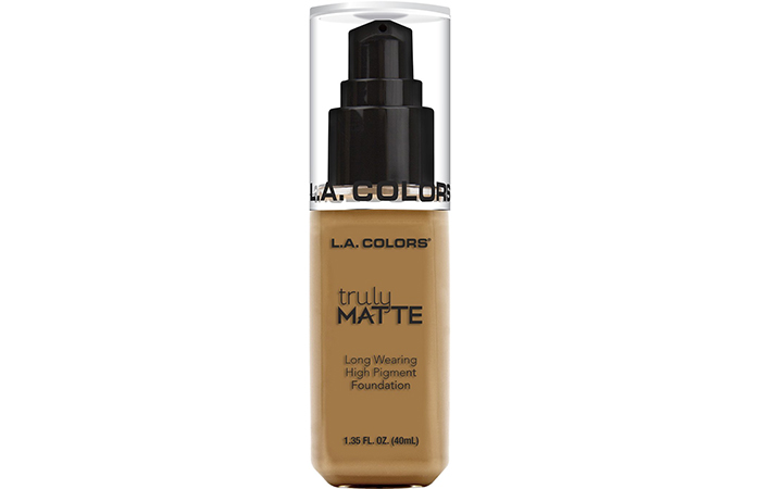 L.A. Colors Truly Matte Long Wearing High Pigment Foundation