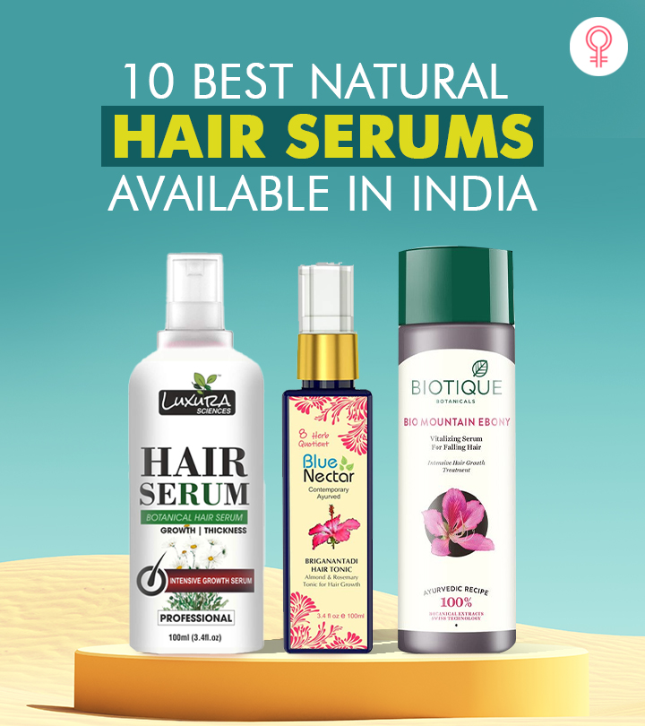 10 Best Natural Hair Serums Available In India