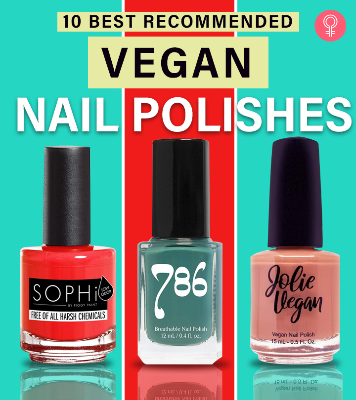 10 Best Recommended Vegan Nail Polishes