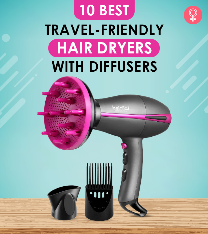 10 Best Travel-Friendly Hair Dryers With Diffusers – 2021