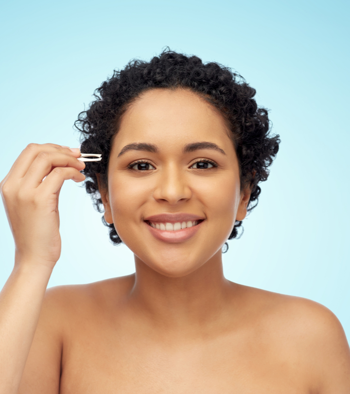 10 Best Tweezers For Facial Hair To Help You Achieve Smooth, Hairless Skin
