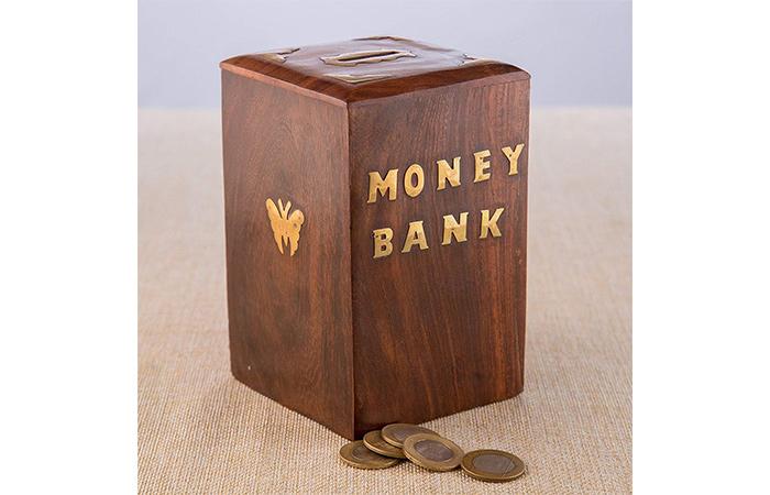 वुडन मनी बैंक