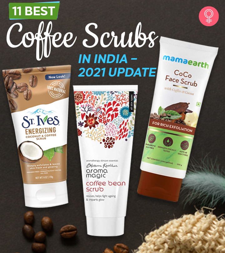 11 Best Coffee Scrubs Available In India