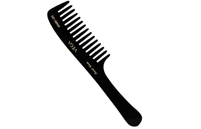 VEGA Handcrafted Round Teeth Comb HMBC- 202