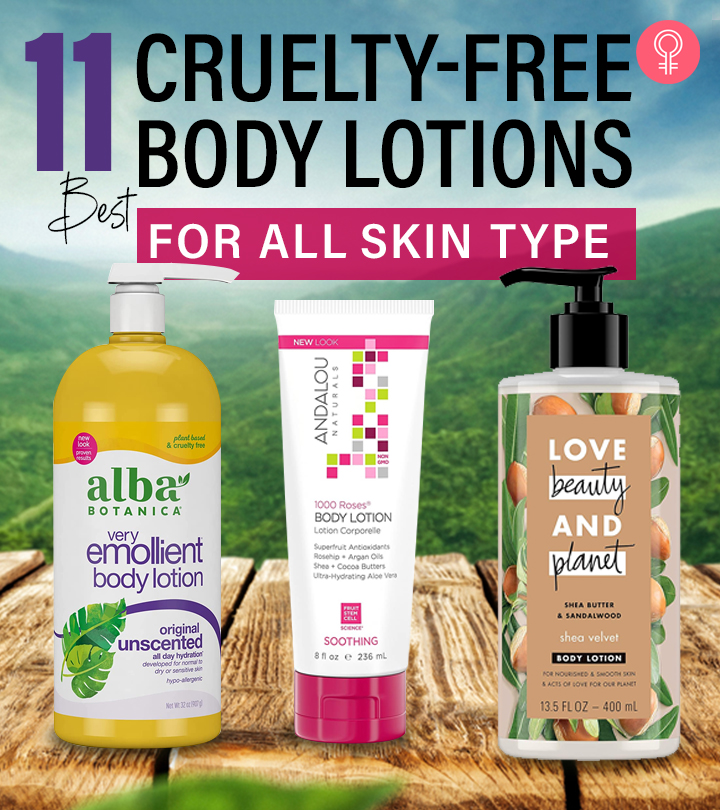 11 Best Cruelty-Free Body Lotions For All Skin Types