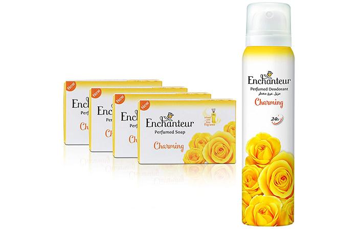Enchanteur Perfumed Soap - Charming