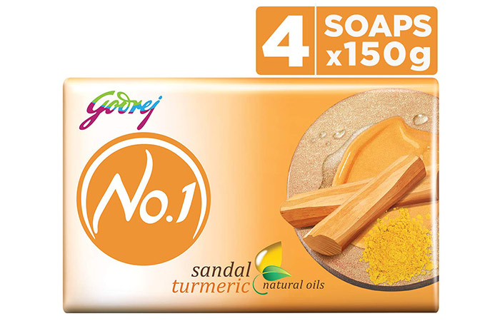 Godrej No. 1 Sandal & Turmeric Soap
