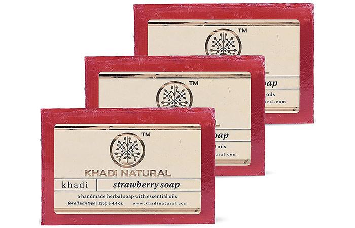 Khadi Natural Strawberry Soap