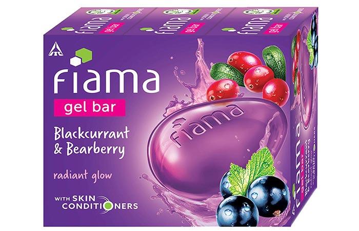 Fiama Gel Bar - Blackcurrant & Bearberry