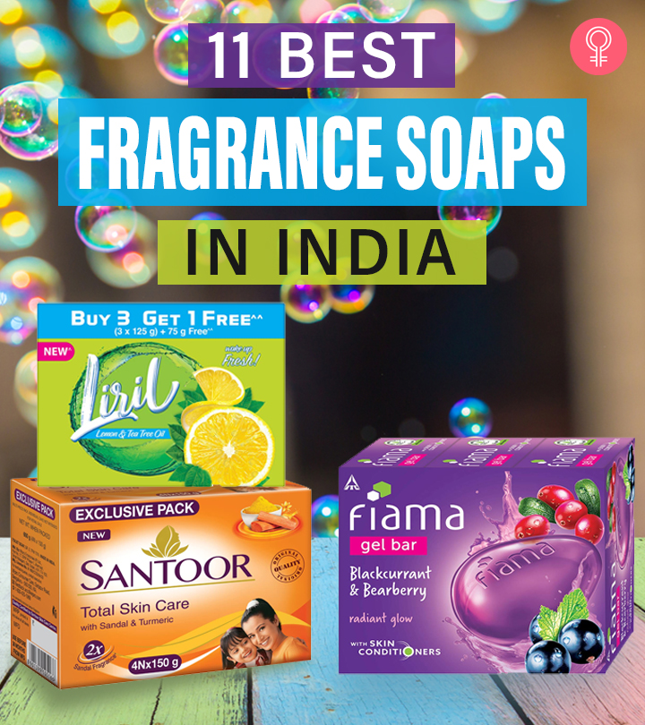 11 Best Fragrance Soaps Available In India