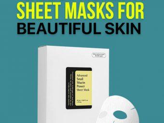 11 Best Korean Sheet Masks For Beautiful Skin