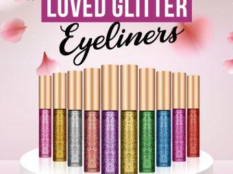 11 Best-Loved Glitter Eyeliners Of 2021
