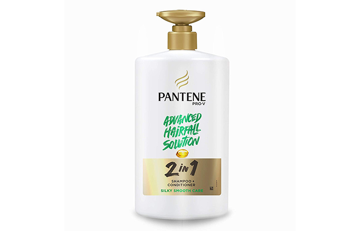 Pantene Pro-V Advanced Hair Fall Solution 2 in 1 Shampoo & Conditioner Silky Smooth Care
