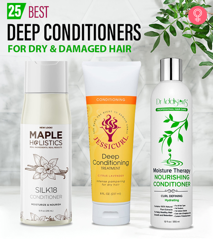 12 Best Deep Conditioners For Dry And Damaged Hair