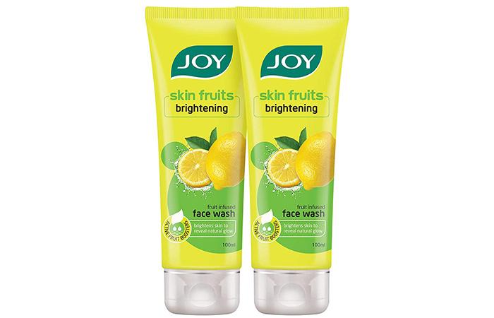 Joy Skin Fruits Brightening Fruit Infused Face Wash
