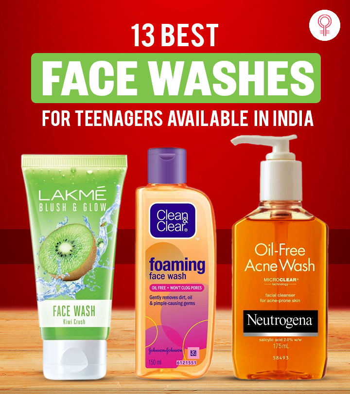 13 Best Face Washes For Teenagers Available In India