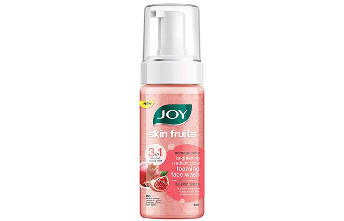 Joy Skin Fruits Pomegranate Brightening + Radiant Glow Foaming Face Wash