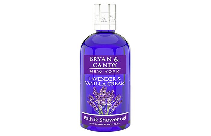 Bryan & Candy Lavender & Vanilla Cream Bath & Shower Gel