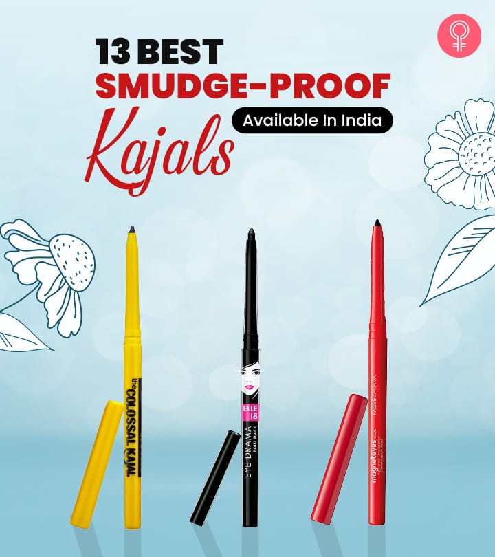 13 Best Smudge-Proof Kajals Available In India