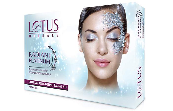 Lotus Herbals Radiant Platinum Facial kit