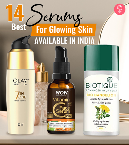 14 Best Serums For Glowing Skin Available In India