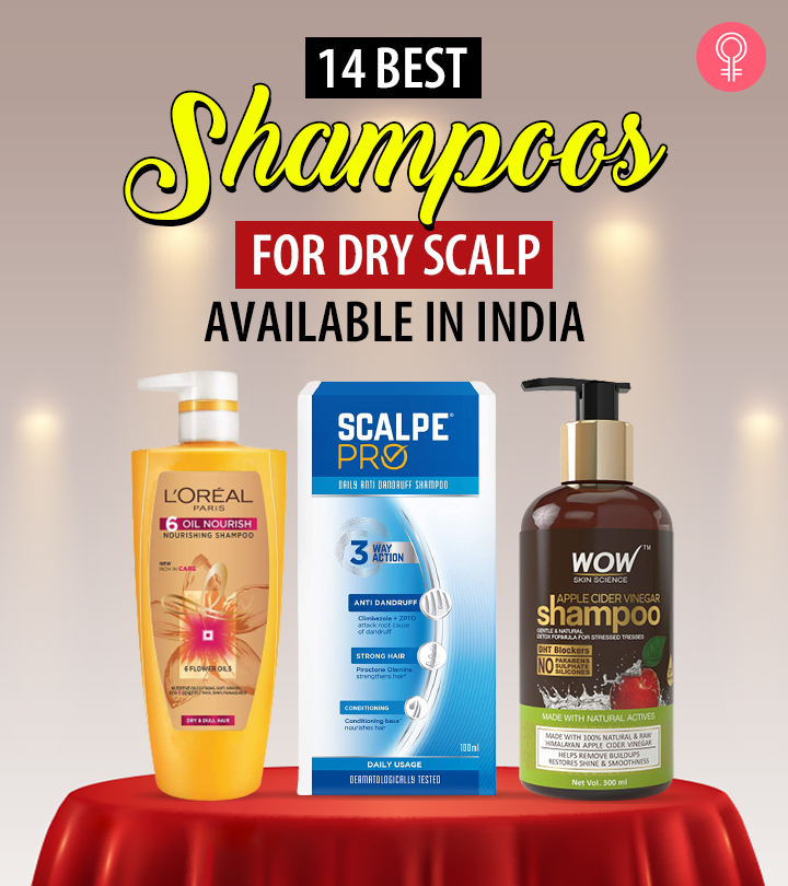 14 Best Shampoos For Dry Scalp Available In India
