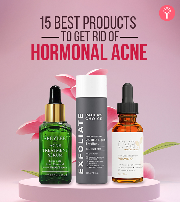 15 Best Products To Get Rid Of Hormonal Acne