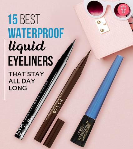 15 Best Waterproof Liquid Eyeliners That Stay All Day Long