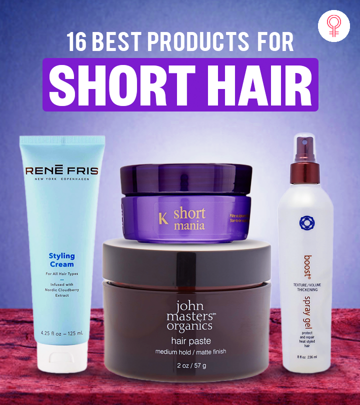 16 Best Products For Short Hair