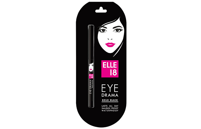 Elle 18 Eye Drama - Bold Black