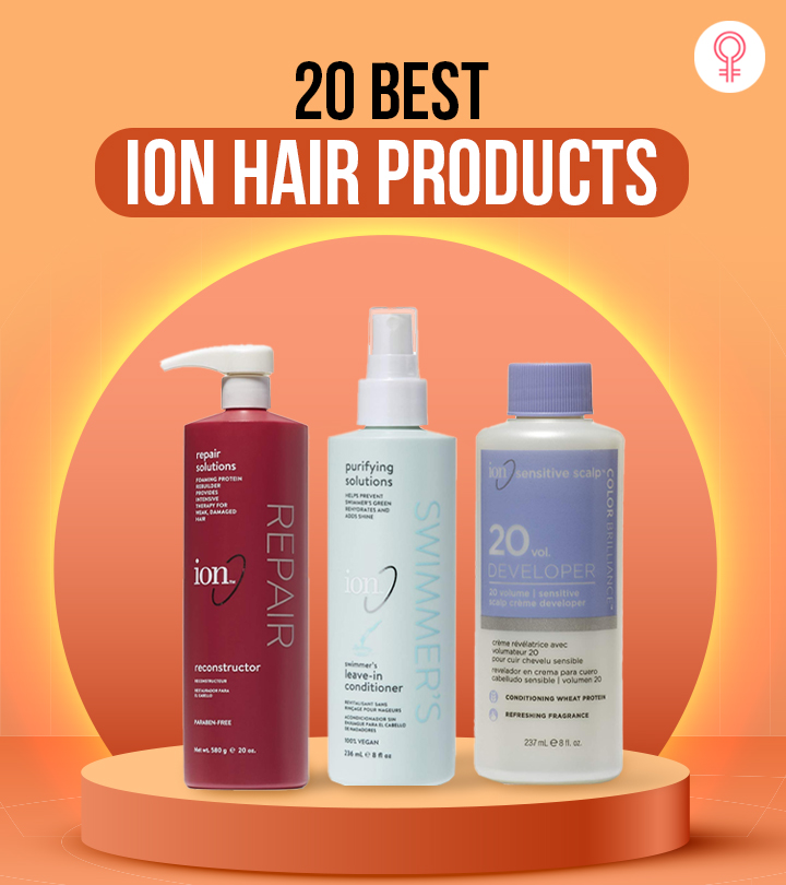 20 Best Ion Hair Products