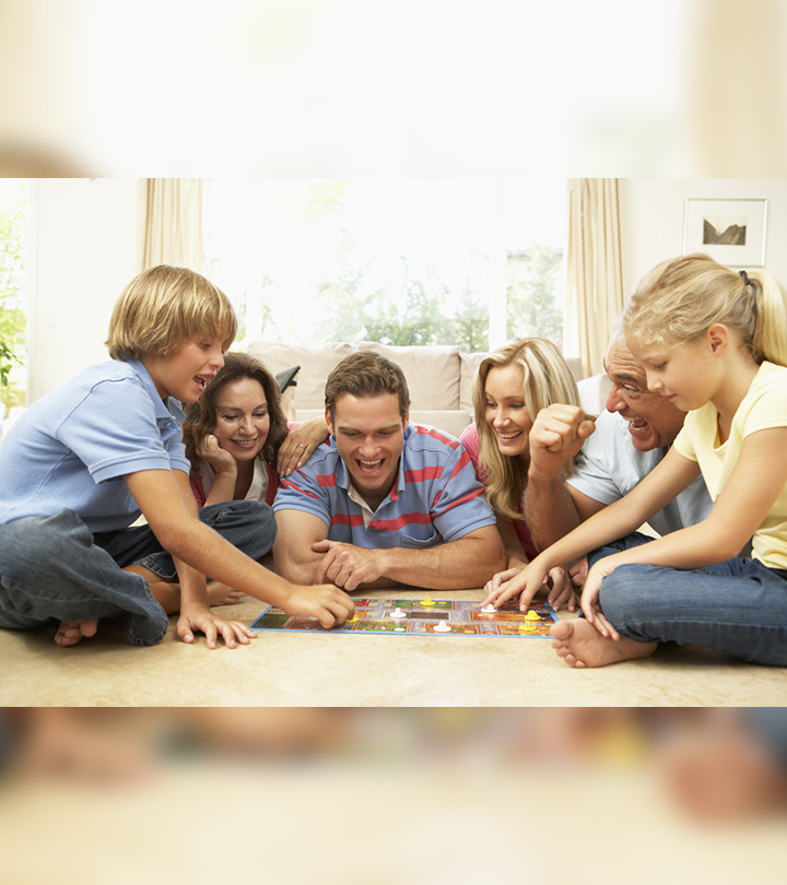 20 Fun Games To Play With Family At Home
