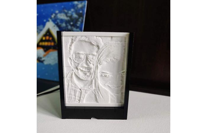पर्सनलाइज 3 डी फोटो लैंप