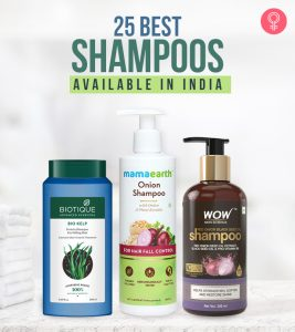 25 Best Shampoos Available In India – 2021 Update