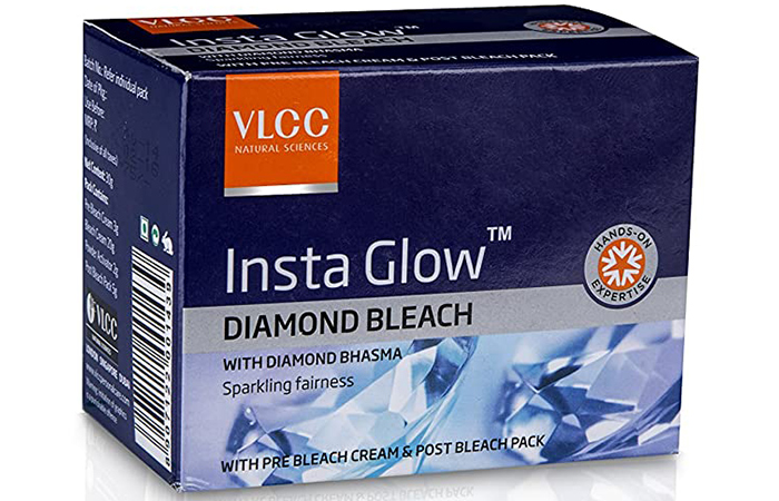 VLCC Natural Sciences Insta Glow Diamond Bleach